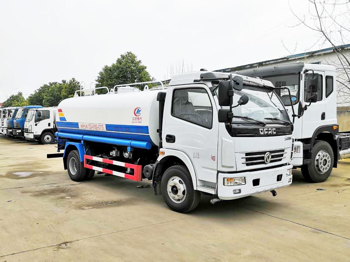 国三东风多利卡洒水车购车案例