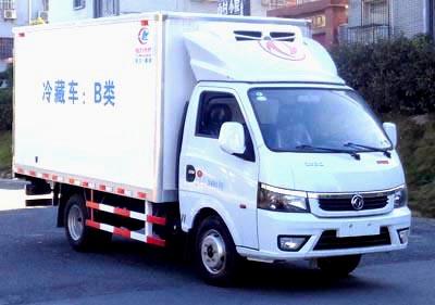 程力威牌CLW5030XLC6型冷藏车